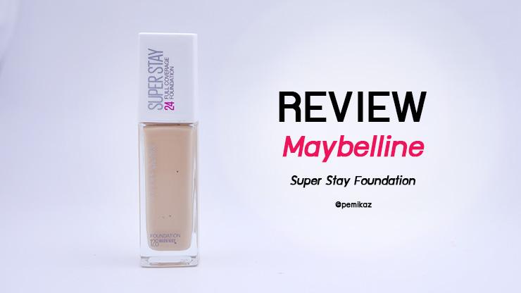 รีวิว รองพื้น Maybelline Super Stay Foundation ผิว NC30 ต้องใช้สีอะไร?