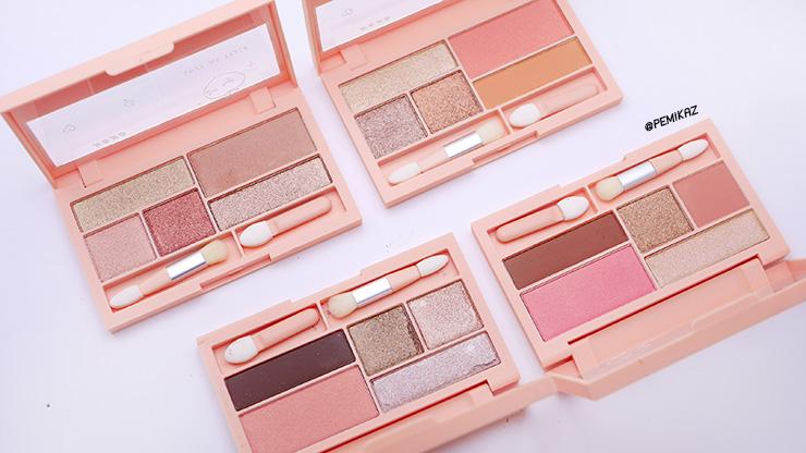 รีวิว XOXO Eyeshadow & Blush Palette สีไหนสวย ควรตำมาดู!