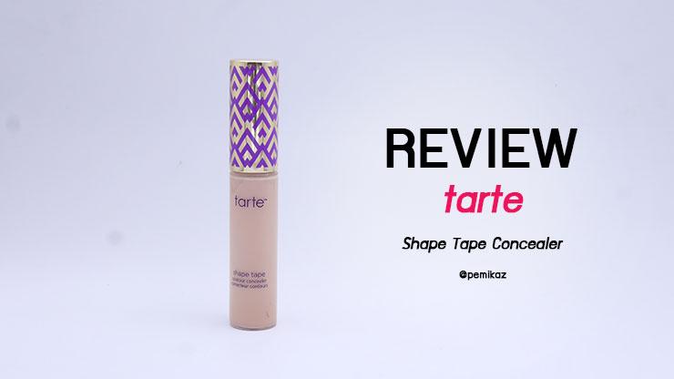 รีวิว Tarte Shape Tape Concealer ผิว NC30 ต้องใช้สีอะไร?
