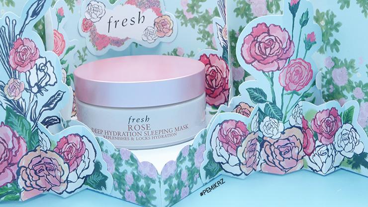 รีวิว Fresh Rose Deep Hydration Sleeping Mask ควรตำไหม?
